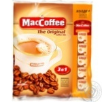 Напиток кофейный Маккофе 3в1 ориджинал растворимый в стиках 100х20г
