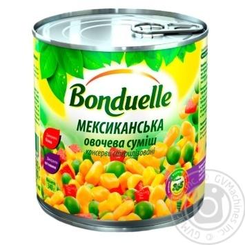 Овощная смесь Bonduelle Мексиканская 425мл