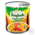Bonduelle GOLD  Sweet Corn With Chilli