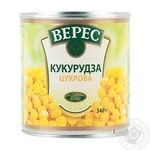 Veres canned sweet corn 340g