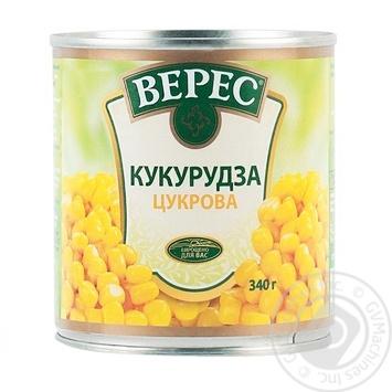 Кукуруза Верес сахарная 340г - купить, цены на Novus - фото 2
