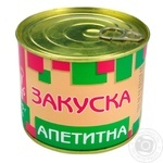Pyatachok canned pork meat 525g