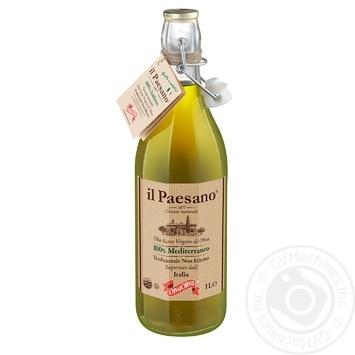 Масло оливковое Diva Oliva il Paesano Extra Vergine нефильтрованное 1л - купить, цены на Фуршет - фото 1
