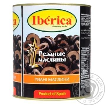 Маслины Iberica резаные 3кг