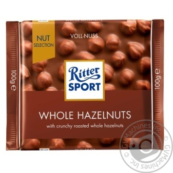 Ritter sport whole hazelnuts milk chocolate 100g - buy, prices for Furshet - image 1