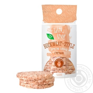 Tasty Style buckwheat crispbread 95g - buy, prices for MegaMarket - image 1