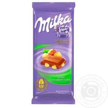 Milka Whole Hazelnuts Chocolate - buy, prices for Metro - image 1