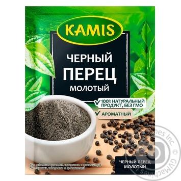 Перець чорний Каміс мелений 20г - купити, ціни на Novus - фото 1