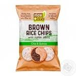 Чіпси рисові Rice up! з насінням чіа і кіноа 60г