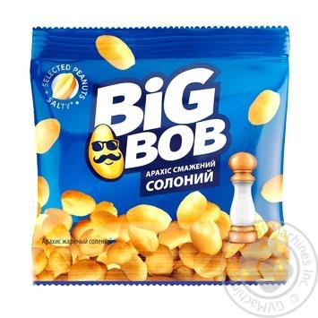 Арахіс Big Bob смажений солоний 30г - купити, ціни на Novus - фото 1