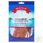 Кальмары Морские паутинка соленые 30г - купить, цены на Novus - фото 1