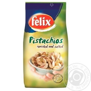Фисташки Феликс жареные соленые 200г - купить, цены на Метро - фото 1