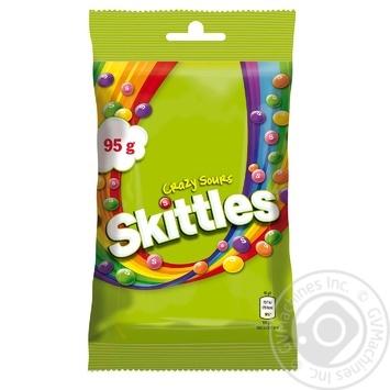 Драже Skittles Кисломикс 95г - купить, цены на МегаМаркет - фото 2