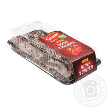 Торт Сладков пинчер с вишней 500г - купить, цены на Novus - фото 1