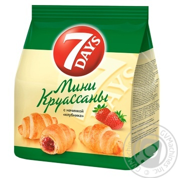 7Days Strawberry Mini Croissant - buy, prices for Novus - image 1