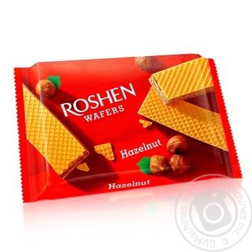 Вафли Roshen Wafers орех 72г - купить, цены на Novus - фото 1