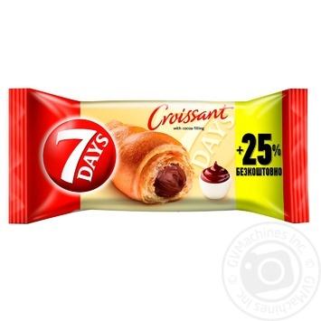 Круасан 7 Days какао 110г - купити, ціни на Метро - фото 1
