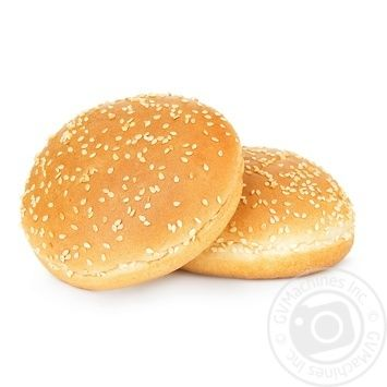 Булочка для гамбургера з кунжутом 2*80г