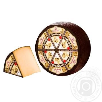 Сыр Звени Гора Добродар голова 50% - купить, цены на Метро - фото 1