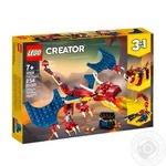 Конструктор Lego  Вогняний дракон