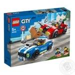 Конструктор Lego Поліцейський арешт