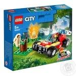 Конструктор Lego Пожежа у лісі