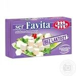 Сыр Mlekovita Favita без лактозы 270г