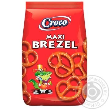 Брецелі Croco максі солоні 80г - купити, ціни на Метро - фото 2