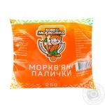 Морковные палочки Вовка Морковка 250г - купить, цены на Novus - фото 1