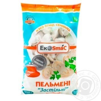 Пельмени SmaCom Застольные с мясом птицы и свининой 900г