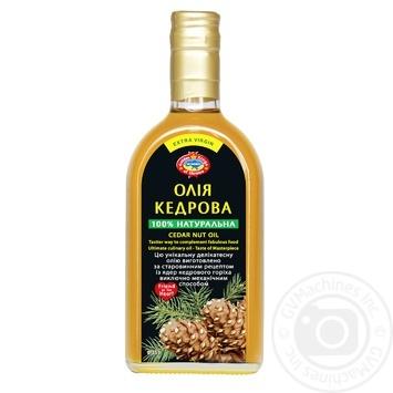 Олія кедрова Golden Kings of Ukraine 350мл - купити, ціни на Ашан - фото 1