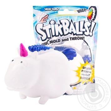 Іграшка Stikballs Липунчик Єдиноріг - купити, ціни на Novus - фото 1
