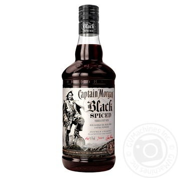 Ром Captain Morgan Spiced Black 40% 0,7л