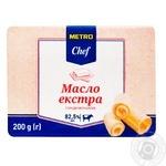 Масло METRO Chef сладкосливочное 82,5% 200г