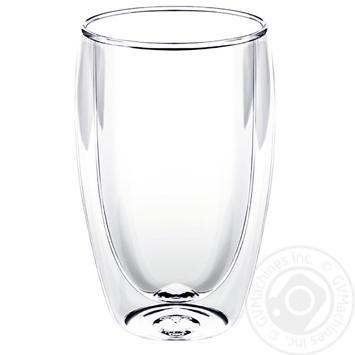 Кухоль Wilmax Thermo двойное дно 400мл - купить, цены на Метро - фото 2