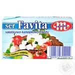 Сыр Mlekovita Favita мягкий соленый 45% 270г