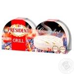 Сир President Camembert Grill 60% 90г*2шт - купити, ціни на Ашан - фото 1