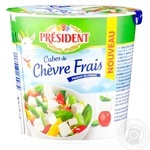 Сыр  President Шевр из козьего молока 45% 120г