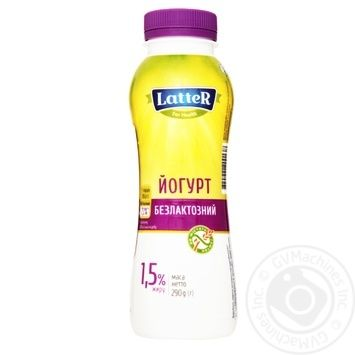 Latter Lactose Free Yougurt 1.5% 290g - buy, prices for Novus - image 1