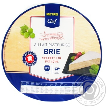 Metro Chef with mold cheese brie 60%