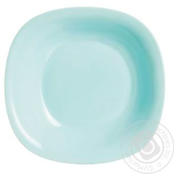 Luminarc Carine Light Turquoise Plate for soup 21cm - buy, prices for Tavria V - image 1