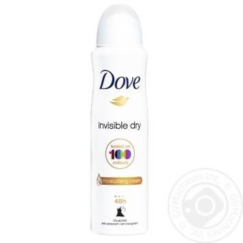 Dove Invisible Antiperspirant aerosol 150ml - buy, prices for Novus - image 1