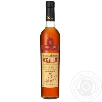 Askaneli Brothers 5 Yrs Cognac 40% 0.5l - buy, prices for Novus - image 1