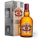 Виски Chivas Regal 12 лет 40%  0,7л в подарочной упаковке