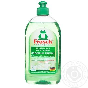 Frosch Dishwashing detergent 500ml - buy, prices for Novus - image 1