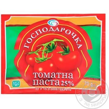 Томатная паста Господарочка 25% 70г - купить, цены на Фуршет - фото 1
