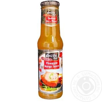 Exotic Food mango-pineapple sauce 250ml