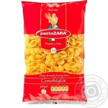 Pasta Zara Conchiglie Pasta 500g - buy, prices for EKO Market - photo 1