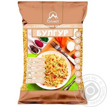 Крупа Олимп Булгур из твердых сортов пшеницы с сушеными овощами 700г - купить, цены на Novus - фото 1