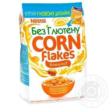 Готовий сніданок Nestle Gold з медом та арахісом 500г - купити, ціни на Ашан - фото 1